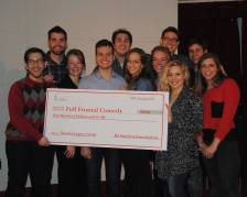 Full Frontal received the 2014 Hoosier Legacy Grant to get new lights!