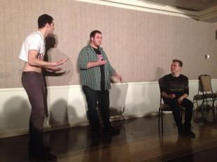 Full Frontal Comedy, IU 2014